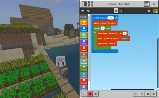 Coding with Minecraft: Education Edition Code Week